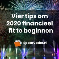 Vier tips om 2020 financieel fit te beginnen